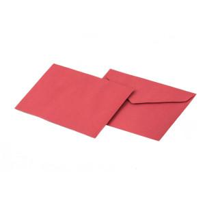 Briefumschläge für Rechnungen und Lieferscheine in rot