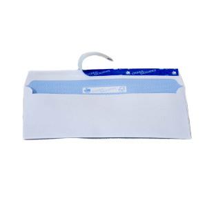 Briefumschläge weiß offset mit Fenster und Schnellklebelasche