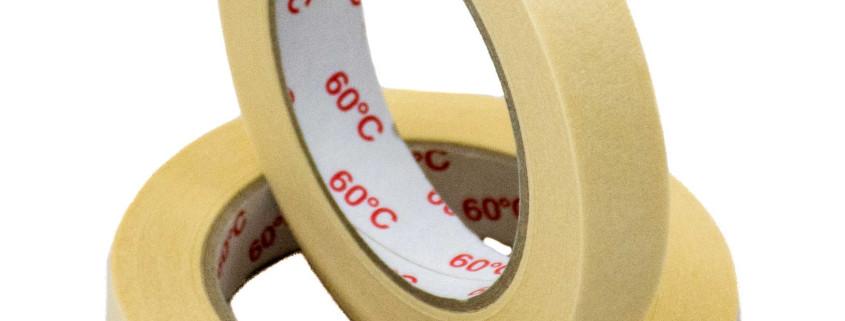 Kreppband in unterschiedlichen Breiten und Längen