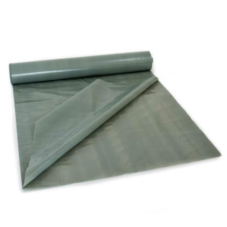 Doppellagige, graue Baufolie aus LDPE auf Rolle