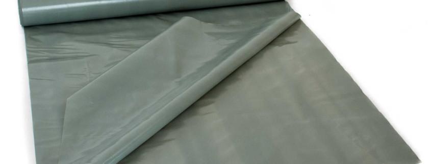 LDPE Baufolie grau, doppellagig auf Rolle