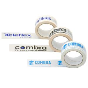 Bedrucktes PVC Packband mit eigenem Logo oder Schriftzug