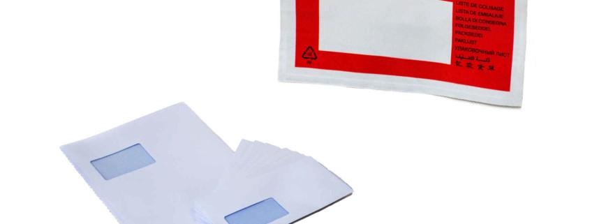 Dokumententaschen für Briefe, Rechnungen und Lieferscheine
