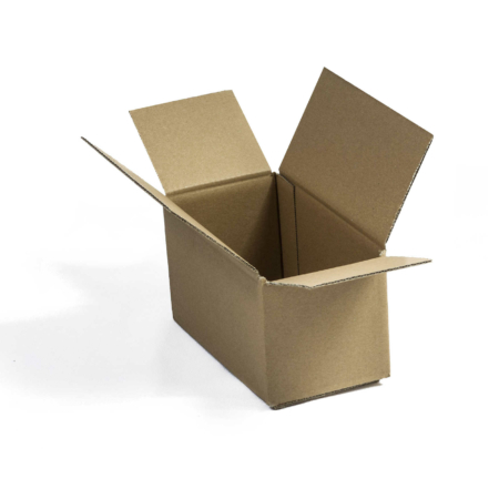 Einfacher Karton nach Bauart Fefco 0203