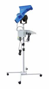 FillPak TT System angebracht auf einem mobilen Ständer mit Rollen.