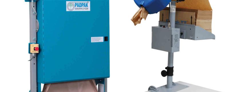 Füll- und Polstersysteme, Verpackungsmaschinen zum Füllen und Polstern mit Papier
