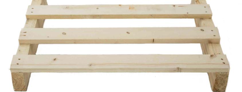 Standardpalette aus Holz