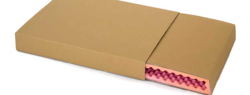 Offene antistatische Noppenschaumverpackung