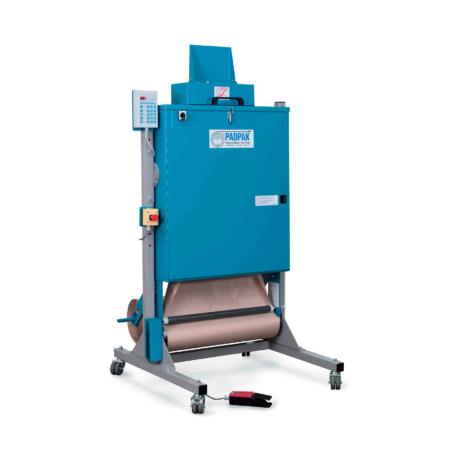 Polstermaschine PadPak Senior zum Polstern von Packgütern direkt im Karton.