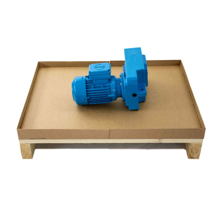 Bodenplatte der Combrabox inklusive Packstück