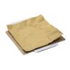 Aufgeklappter Versandkarton mit Inlay (Kraftpapier) zur Fixierung des Packguts