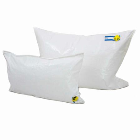 Zwei Staukissen bzw. Säcke zum Ausfüllen von Hohlräumen im LKW. Diese dienen der Ladungssicherung.