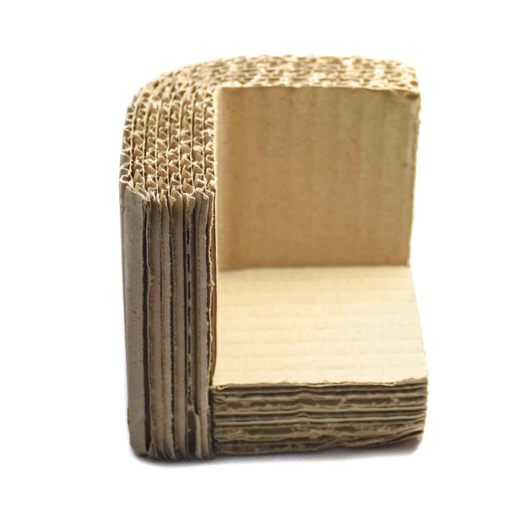 polsterecke aus wellpappe kanten und eckenschutz combra. Black Bedroom Furniture Sets. Home Design Ideas