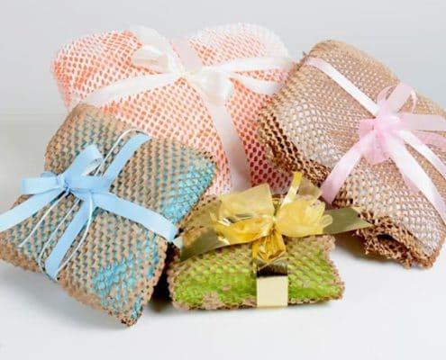 Verschiedene Seiden- und Kraftpapier von Geami WrapPak