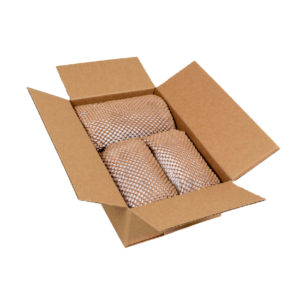 Verpackte Gegenstände in Geami WrapPak Papier