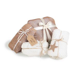Das Geami Papier als Geschenkverpackung