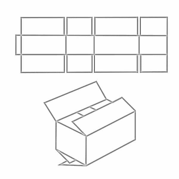 FEFCO 0202 Zeichnung